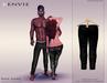 KENVIE . mesh . Nive Custom Jeans DeepBlack