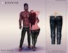 KENVIE . mesh . Nive Custom Jeans SlateBlue