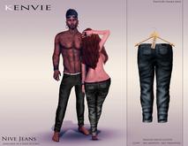 KENVIE . mesh . Nive Custom Jeans Grey