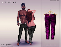 KENVIE . mesh . Nive Custom Jeans DeepPink