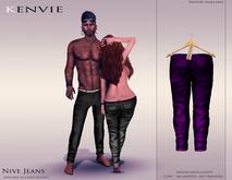 KENVIE . mesh . Nive Custom Jeans DarkIndigo