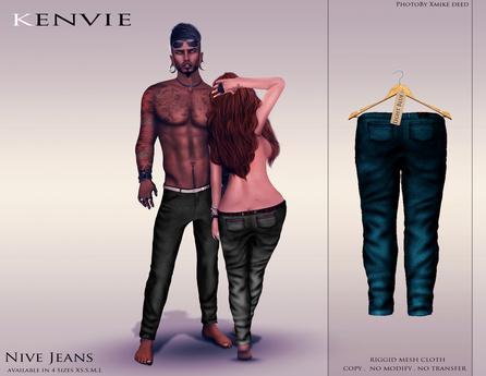 KENVIE . mesh . Nive Custom Jeans LightBlue