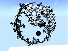 Yin and Yang Wall Decal