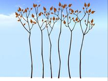 Trees 1 Wall Decal