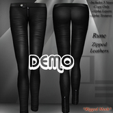 DE Designs - Rune - Zipped Leathers - DEMO