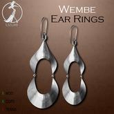 -=UZURI=- Wembe Earrings silver
