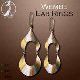 -=UZURI=- Wembe Earrings gold