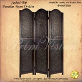 *PV* Arched-Top Venetian Room Divider