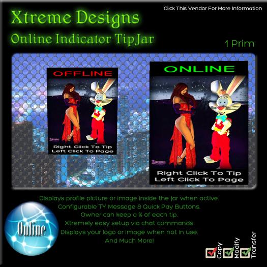 Easy Online TipJar - Online Indicator Tipjar