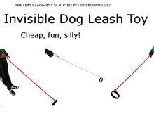 Invisible Dog Leash Toy