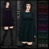 :::Sn@tch Mesh Trina Dress-All Colors (XLarge):::