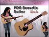 PDA Mesh Acoustic Pro Guitar - LightWood