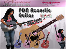 PDA Mesh AcousticPro Guitar - DEMO