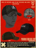 SISU\\ PARAMILITARY BALL CAP