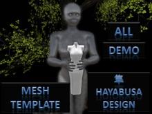Demo Full Perm Template Mesh , by Hayabusa Design