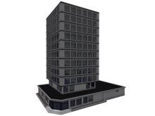 JP Headquarters - Mesh Office Building
