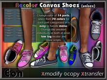 Recolor Canvas Shoes (unisex) ..:: EON ::..