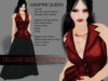 Sexy Vampire Queen Beatrix, complete avatar from Deluxe Body Factory. Hair, skin, shape ... ALL seen included and more!