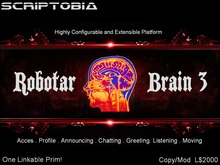 Robotar Brain (Intelligent, Animated and Interactive Host)