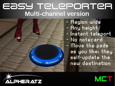 [Alpheratz] Easy Teleporter (Multichannel)