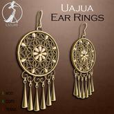 -=UZURI=- Uajua Earrings (gold)