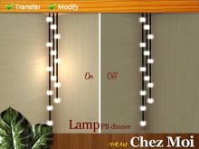 Lamp PB Dinner ♥ CHEZ MOI