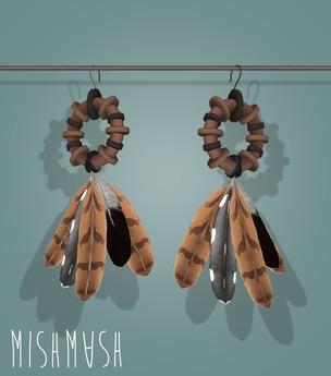 MishMash - Boo Boo Honey Earrings