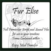 *SIO* Music Box-Fur Elise