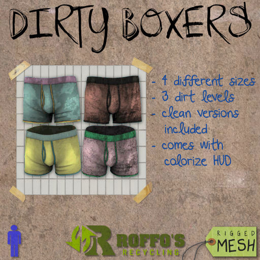 Colorable Dirty Boxers