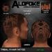 Alofoke! - Tribal 01 Hair Tattoo