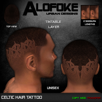 Alofoke! - Celtic Hair Tattoo