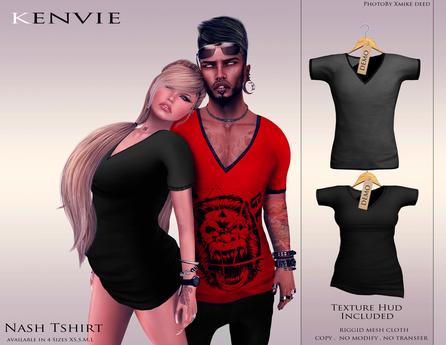 KENVIE . mesh Nash shirt Demo