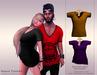 KENVIE . mesh Nash Tshirt Yellow/Purple