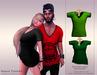 KENVIE . mesh Nash Tshirt Green