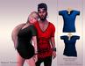 KENVIE . mesh Nash Tshirt Blue