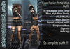 NS:: Cyber Fashion Partial mesh Outfit