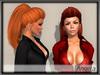 - MPP Hair - Angela - Red