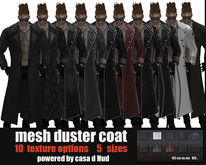 Mesh Duster Coat ( 10 options)