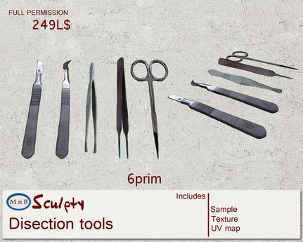 *~M`n B~* Disection tools (box)