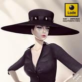 *LODE* Hat - Imperia [black]