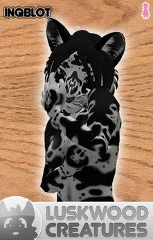 Luskwood Inqblot Cat Avatar - Female