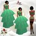 2 Glitter Dot Green Gown ~SLD~