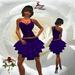 23 V Skirt Purple ~SLD~