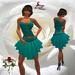 26 V Skirt Aqua ~SLD~