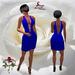 40 Basic Blue Ladder Dress ~SLD~