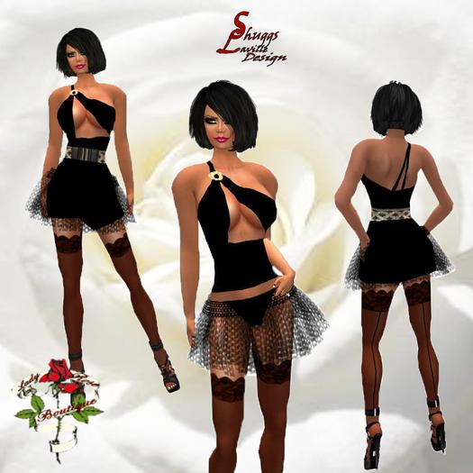 119 Little Black Mini Dress ~SLD~