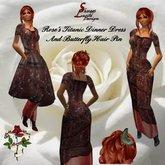 186 Rose's Titanic Dinner Dress