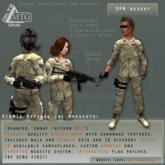 D1&MTG - ACU- Uniform - DPM Desert