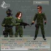 D1&MTG - ACU- Uniform - Flora