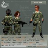 D1&MTG - ACU- Uniform - US Woodland